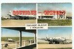 AIRPORT - AEROPORT De Toulouse Blagnac - Avion Bréguet 2 Ponts - Aviation Aérodrome - Dos Scané - Aerodrome