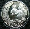 Andorra 10 Diner 1992 Squirrel Silver Proof - Andorra