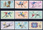 HUNGARY 1966 World Cup Football Set MNH / **   Michel 2242-50 - Hungary