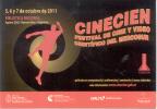 CINECIEN FESTIVAL DEL CINE Y VIDEO CIENTIFICO DEL MERCOSUR BIBLIOTECA NACIONAL OCTUBRE 2011 ARGENTINA - Cinema