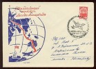 ANTARCTIC Station Base Pole Mail Used Cover USSR RUSSIA Plane Flight Moscow - Unclassified
