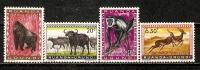 Ruanda-Urundi 1959  Fauna  (**) SG.203,04,04 +212  MNH - Ruanda-Urundi