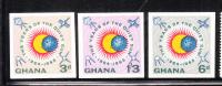 Ghana 1964 Int'l Quiet Sun Year MNH Imperf - Ghana (1957-...)