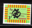 Ghana 1965 Surcharged 3pa On 3p MNH - Ghana (1957-...)