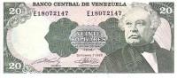 VENEZUELA   20 Bolivares  Daté Du 07-09-1989   Pick 63b     ***** BILLET  NEUF ***** - Venezuela