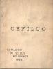 CEFILCO CATALOGO DE SELLOS BOLIVIANOS AÑO 1965 109 PAGINAS EDITORIAL ATLANTIC COCHABAMBA RARE - Letteratura