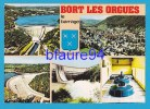 Bort Les Orgues   Barrage  5 Vues + Blason     EDT/ N°   Cim - Frankreich