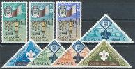 QATAR 1965 BOY SCOUTS/ARAB SCOUTS SC# 53-60 VF MNH SCARCE SET VF MNH - Qatar