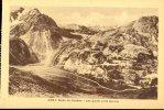 """Route Du Galibier- Cpa NEUVE-  Ed """"dauphiné Paysages"""" A.Mollaret (A Hourlier, Successeur) *tampon Du Restaurant Au Dos* - France"""