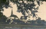 SEEBACH- HÄUSER UM DIE KIRCHE 1922 ++++ S/w Foto Karte - ZH Zurich