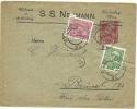 Austria Privat Postalstationary Uprated Wien 7-12-1912 To Brussel  Weberei SS Neumann (E1539) - Postwaardestukken