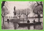 MACON - Inondations 1955 - Statue Lamartine (Barque) - Macon