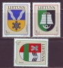 Litauen 2006. Coat Of Arms. 3 St. MNH. - Lithuania