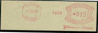 Germany Nice Cut Meter GUTTERMANN Nahseider  8-10-1929 (E1544) - Duitsland