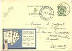 Belgium PUBLIBEL 247 Bruxelles 20-1-1937 Lady Paper Feuillets Du Tricot (E1563) - Textiel