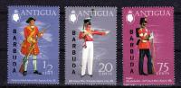 BARBUDA  1973/4   , Military Uniforms I    , Y&T  #  108/10 + 142/46    ,  Cv  4.30 E ,  ** M N H . , V V F - Antigua E Barbuda (1981-...)