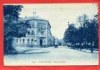 ZWEIBRUECKEN DEUX PONTS 1928 RUE DE LA GARE HOTEL BAHN HOTEL CARTE EN BON ETAT - Zweibruecken