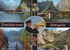 Blick Von Der Rabenwand - Obersee - An Der Flakensteiner Wand - St. Bartholoma Mit Watzmann - Germany