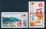 POLYNESIE FRANCAISE -FRANZÖSISCH POLYNESIEN Mi.Nr. 113-114 Weltausstellung EXPO`70   -MNH - 1970 – Osaka (Japan)