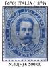 Italia-F00670 - 1879 - Sassone: N.40 (+) MLH - Privo Di Difetti Occulti. - Mint/hinged