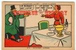 BEURRE  TIP - Carte Publicitaire - Publicité - Politique  Vote Du Budget - Dos Scané - Fermes