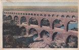 Cpa Du 30 - Aqueduc Romain - Pont Du Gard - Otros Municipios