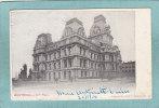 MONTREAL  -  CITY  HALL  -  1904  -  CARTE PRECURSEUR  -  ( Timbre Enlevé ) - Montreal