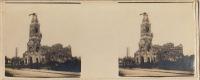 Albert Guerre WW1 Somme Dégâts à La Basilique 15 Mois De Bombardement Allemand - Fotos Estereoscópicas