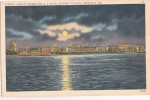 B37402 General View Of Harbour And U S Naval Academy At Night Annapolis MD Used Perfect Shape - Annapolis – Naval Academy