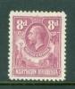 Northern Rhodesia: 1925/29   KGV      SG8      8d        MH - Northern Rhodesia (...-1963)
