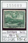 Britisch Guyana - British Guiana - Guayana - Michel 180x Zahnfehler - Oo Oblit. Used Gebruikt - Michel 35,00 Euro - Guyane Britannique (...-1966)