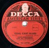 Disques 78 Tours - DECCA AU 30558  - Louis ARMSTRONG - COAL CART BLUES - DOWN IN HONKY TONK TOWN - 78 T - Disques Pour Gramophone