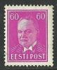ESTLAND Estonia 1936 Michel 126 MNH - Estonia