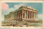 ATENE ATHENS THE PARTHENON 1957 - Grecia