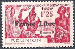 REUNION ICELAND..1943..Michel # 245...MLH. - Réunion (1852-1975)