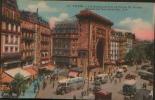 PARIS LE BOULEVARD ET LA PORTE ST DENIS 1926 - France