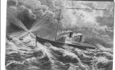 Transatlantique  Rentrat Au Port Par Tempete - Paquebote