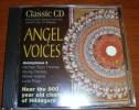 Cd Classic Cd Volume 94 Angel Voices Anonymous 4 Thomas Perahia Issertis Popp - Classique