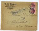 Deutschland Brief Emmerich P.K. Geprüft Ung Zu Befördern,  Nach Oirschot Holland 1915 (zerbrechlich)