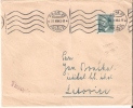 1943 Cover 1.60c Bohemia & Moravia/Czech Hitler Head Stamp Prague Cancel - Occupation 1938-45