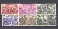 Saint Pierre Et Miquelon  -  Avion  -   1946  :  Yv   12-17  * - Poste Aérienne