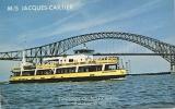 Bateau/ship/schiff - M/S JACQUES CARTIER Croisières Sur Le St Laurent - CPM - Barche