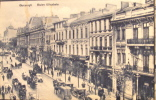 1929 CPA Ancienne Circulée France Bucarest Boulevard Elisabeta Très Animée Voitures Et Chevaux Bon état  TBE - Roemenië