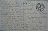 1914 GERMANY FELDPOST FELDPOSTAMT 7 ARMFE CPS STAMP - Deutschland