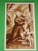 S.BERNARDINO Da SIENA - Santino Riproduzione Da Antica Immagine ( FB Seppia ) - Parrocchia Di PONTE NOSSA,Bergamo - Images Religieuses