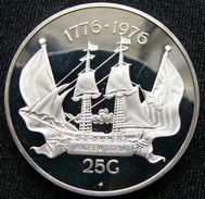 Antilles Nederland 25 G 1976 Sail Ship Silver Proof - Nederlandse Antillen
