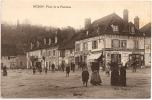 87 - NEXON - Place De La Fontaine ++++ TRÈS ANIMÉE+++++ TOP ++++++ Édit. Desprats ++++++++++++++++ - France