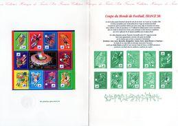 """1998 : DPO 4 Pages (faciale = 4.60 €) BF N° 19 """" COUPE DU MONDE - FRANCE 98 """". En Parfait état - 1998 – France"""