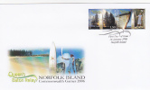 Norfolk Island-2006 Queen's Baron Relay FDC - Norfolk Island