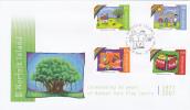 Norfolk Island-2007 Banyan Park Play Cntre FDC - Norfolk Island